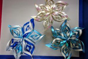 結晶折り紙1