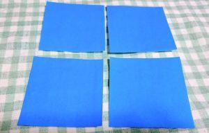 結晶折り紙作り方2