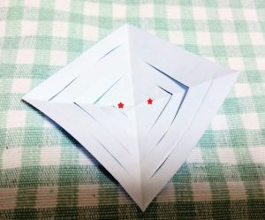 結晶折り紙作り方9