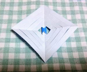 結晶折り紙作り方10