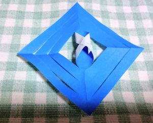 結晶折り紙作り方12