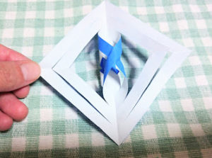 結晶折り紙作り方14