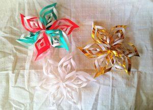 結晶折り紙2