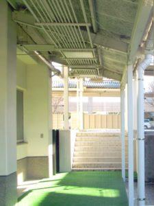 学校渡り廊下