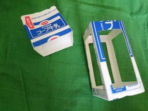 牛乳パックランタン4